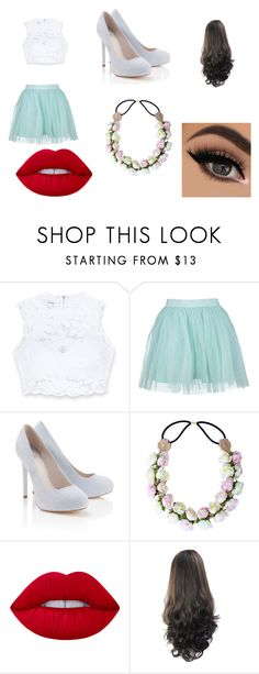 """""""Beuty"""" by brennda-constantino on Polyvore featuring moda, Bebe, Lipsy e Lime Crime"""