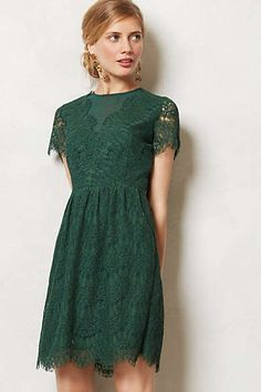 Anthropologie - Margaux Dress Another contender for the December wedding. Although my grandmother might not appreciate the backless nature of the dress.