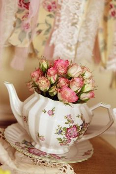 Bridal Shower Tea Pot