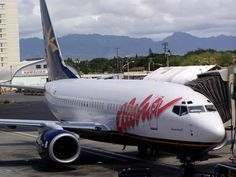 Flew with Aloha Airlines in 2004 to  Hawaii from San Francisco