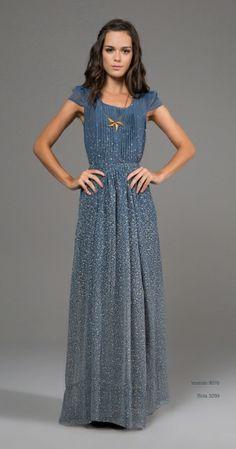 """Vestido Lindo da Antix, da coleção """"o céu da celeste"""""""