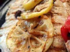Fresh tilapia fillets are marinated with lemon juice and herbs then grilled. Fresh lemon slices add sweet and nutty flavor when grilled.