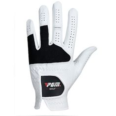 PGM Golf Gloves Men's Genuine Leather Breathable Left Hand and Right Hand