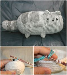 These Free Crochet Cat Patterns that will make you get the perfect cat amigurumis ever!Crochet Pusheen The Cat Pattern