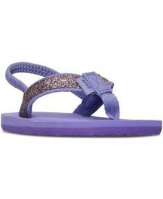 Teva Toddler Girls' Mush Ii Flip-Flop Sandals from Finish Line - Purple 7