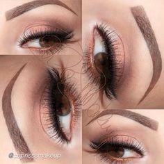 Soft spring makeup look using Motives Cosmetics