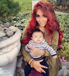 Snookie's baby is beautiful