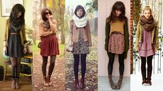 Autum Inspiration Dresses With Boots