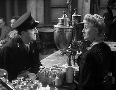 'Brief Encounter' starring Stanley Holloway (Albert Godby the Stationmaster) and Joyce Carey (Myrtle Bagot the Refreshment Room Manageress). Directed by David Lean. David Lean, David Niven, Brief Encounter, Play S, Married Woman, Film Stills, Famous Faces, I Movie, My Eyes