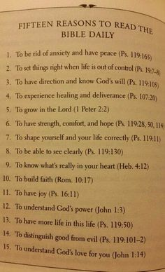 The Wisdom From Proverbs: 15 Reasons To Read The Bible
