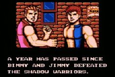 It's Bimmy and Jimmy! - - - #bimmy #doubledragon #doubledragon3 #doubledragonIII #nintendo #nes #nintendoentertainmentsystem #8bit #retrogaming #retrogames #retro #retrogamer #gamersunite #retrogamelovers #videogames #games #gamer #gaming #instagaming #instagamer #FunnyGameQuotes #PicOfTheDay #lol #funny