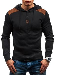 TOLVXHP 2018 New hot sale Fashion Hoodies Men Brand Sweatshirt Male Ho – geekbuyig Source by official_liligall fashion clothing Outfit Designer, Slim Fit Hoodie, Outfit Invierno, Hoodies For Sale, Men's Hoodies, Winter Hoodies, Style Casual, Men Casual, Sweatshirts