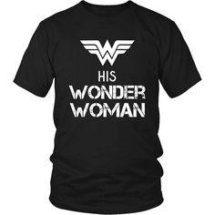 His Wonder Woman Couple 26 Female Valentine´s Day T-shirt