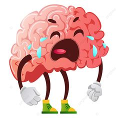 Cartoon Brain Drawing, Crying Cartoon, Cartoon Sun, Brain Vector, Human Vector, Free Vector Graphics, Vector Art, Brain Illustration, Backgrounds