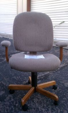 Wooded Chair With Arms!   $55
