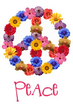 World of Pinatas - Peace Flowers Poster, $16.99 (http://www.worldofpinatas.com/peace-flowers-poster/)