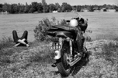 Henri Cartier-Bresson FRANCE. Seine-et-Marne. The Loing river. 1969.