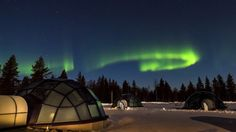 Kakslauttanen Glass Igloos | Courtesy of the resort