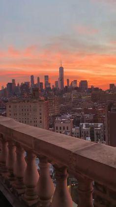 New York Sunset, City Sunset, New York City Guide, New York Travel Guide, New York City Vacation, New York City Travel, New York Life, Nyc Life, City Aesthetic