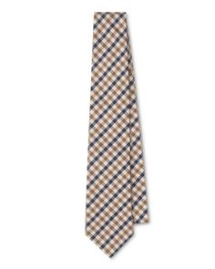 Aquascutum Club Check Tie — Never understood what people saw in the ostentatious Burberry check. This is far more refined, elegant and usable.