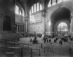 1910 What Penn Station used to look like will make you weep with longing