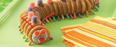 Creepy Crawly Caterpillars! Cute for Kids! Land O'Lakes
