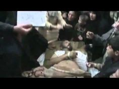 Heartbreaking footage of an entire family clan wailing over the death of a loved one in Idleb. Syria, Death