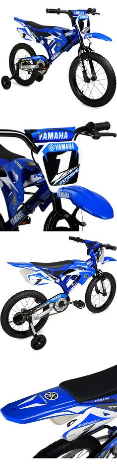 Other Cycling 2904: 16 Moto Yamaha Boys Bike Motocross Style Fenders Blue Steel Frame Bicycle New -> BUY IT NOW ONLY: $107.28 on eBay!