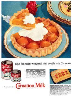 Carnation Milk advertisement, August 1956.