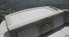 Sea Ray 240 Sundeck Outboard: A spacious sun pad is just behind the aft seat in the sterndrive version.