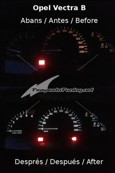 Il·luminació Opel Vectra B / Iluminación Opel Vectra B / Opel Vectra B lighting #TempestaTuning