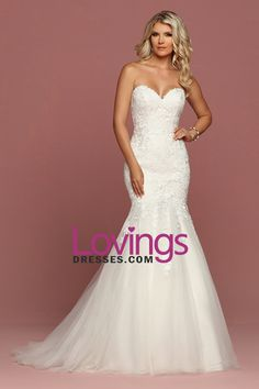2018 Tulle Sweetheart Mermaid Wedding Dresses With Applique Sweep Train
