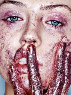 Fashion Editorial 'Don't Be Cruel' Charlotte Free by Donna Trope for Purple Fashion Magazine FW 14/15