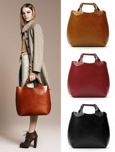Zara pleated shopper (89 euros)