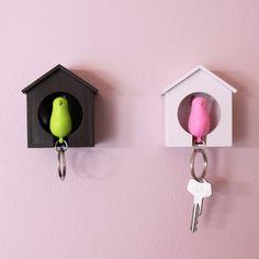 もう子供が家の鍵なくすことはない!?かわいい鳥の巣箱キーボックスの紹介。紛失防止になるかも。 : インテリア雑貨の伊勢海老太郎ブログ