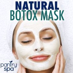 Natural Botox: Dr Oz Wrinkle Cure Treatment & Botox Mask   Soo trying this