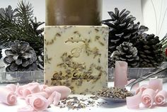 5 oz Lavender Exfoliating Soap Bar by BebrDesigns on Etsy, $5.99