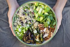 Been eating this quinoa salad at least 2x a week lately... so delicious, light & filling!