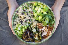 Amazing Moroccan Quinoa salad.