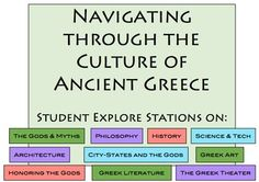 Navigating the culture of Ancient Greece: Students explore 10 essential aspects of Ancient Greek culture!