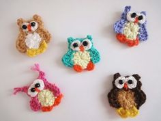 Маленький совёнок Small owlet Crochet - YouTube