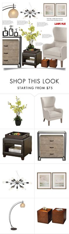 """""""Lamps plus  35"""" by mell-2405 ❤ liked on Polyvore featuring interior, interiors, interior design, home, home decor, interior decorating and Possini Euro Design"""