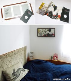 Frame a brochure, magazine clipping or any other print for a custom artwork in your room! :)