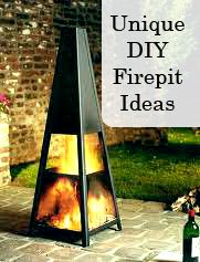 Unique DIY Firepit Ideas - NOTE TO SELF: explore this site further, at a later date.  Looks like a cool link!  :)