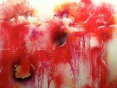 "Saatchi Online Artist MiraBelle Peintre - Sculptrice; Painting, ""Harvest of Passion"" #art"