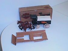 HARLEY-DAVIDSON HORSES & WAGON DELIVERY BANK ERTL #9362 MINT IN ORIGINAL BOX