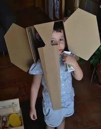 mascaras hechas con cajas de carton - Buscar con Google