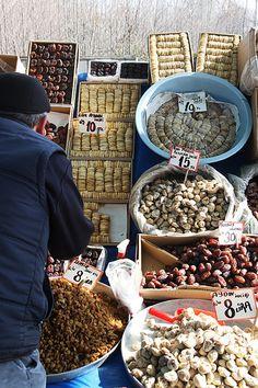Sapanca Market in Winter Turkey