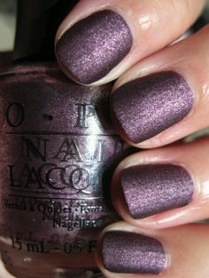 Opi Lincoln park after dark suede collection fall 2009