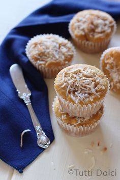 Mango & Toasted Coconut Muffins